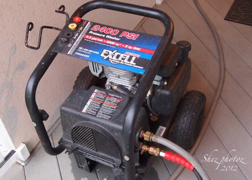 Honda Power Washer from the other side