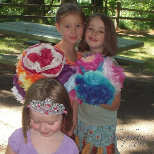 Three of cousin Sue's Granddaughters